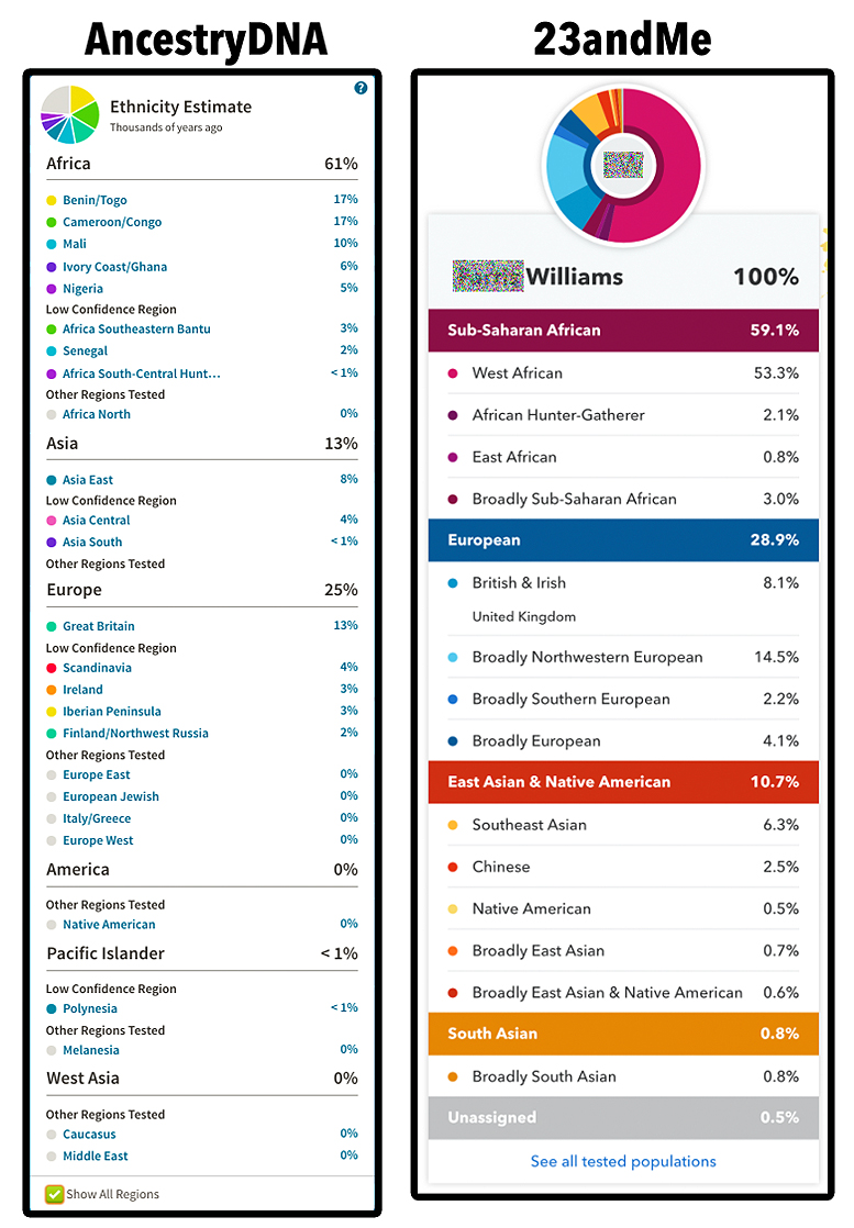 AncestryDNA vs  23andMe: Which Test Is Best? – Do You Feel Me?